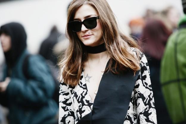 La influencer Eleonora Carisi es una imprescindible en las fashion weeks.