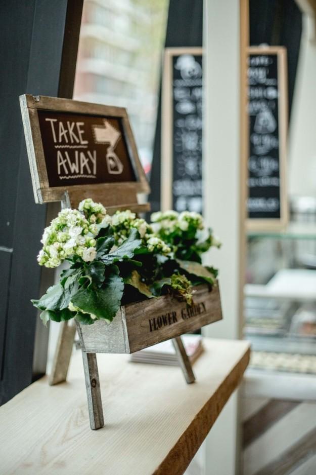 Nos encanta el servicio take away de Sushita Café.