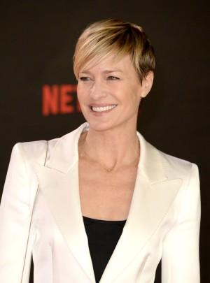 Robin Wright interpreta a Claire Underwood en House of Cards.