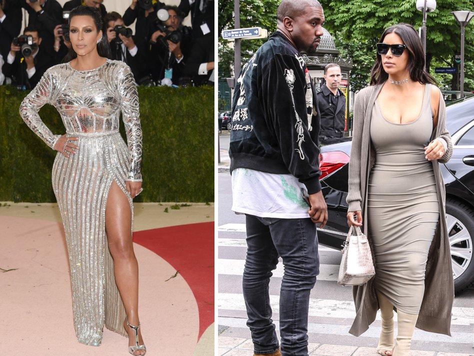 Kim Kardashian y su dieta para perder 32 kilos en unos meses
