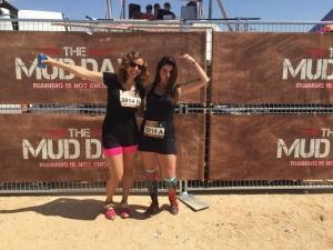Inés Serra y Gloria Vázquez en The Mud DaY.
