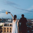 Una boda millennial en una azotea