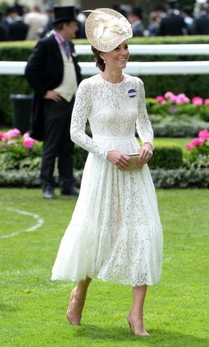Kate Middleton en Ascott