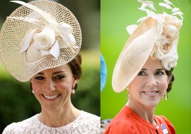 Kate Middleton frente a Mary de Dinamarca