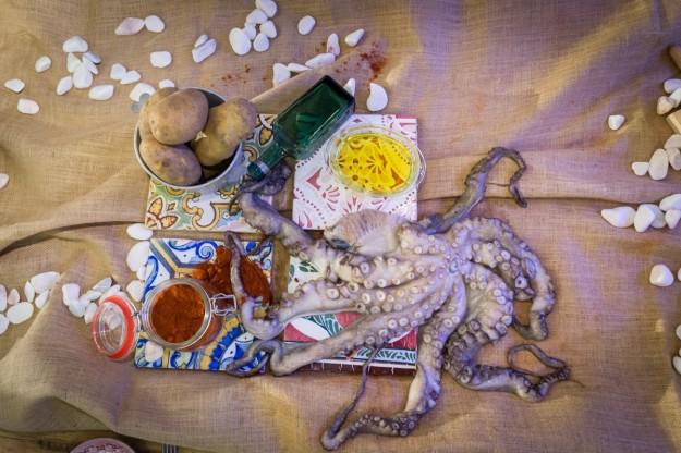 Imprescindibles para preparar pulpo a feira o pulpo a la gallega.