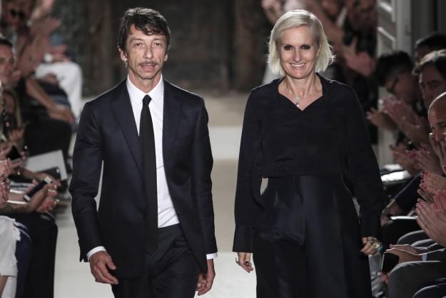 Pierpaolo Piccioli y Maria Grazia Chiuri