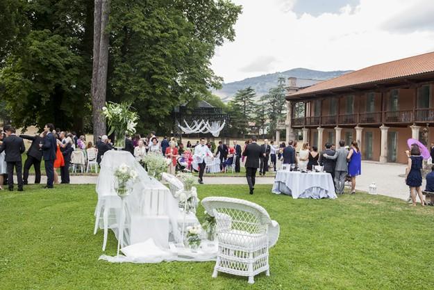 El banquete se celebró en La Casona de Las Fraguas, en Cantabria.