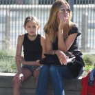 La hija de Heidi Klum sigue sus pasos
