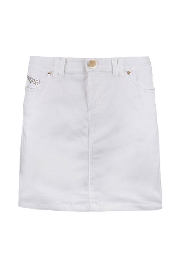 Minifalda blanca. De Morgan vía Zalando, 24,95 euros.