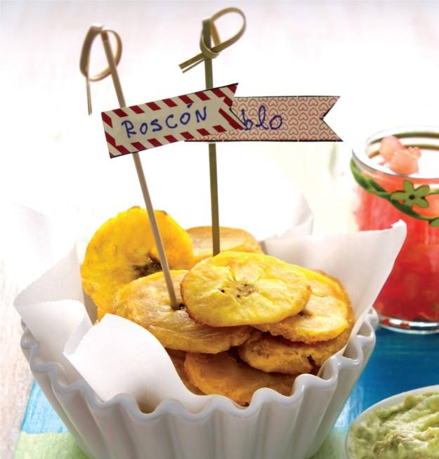Tostones de plátano de Samantha Vallejo-Nágera