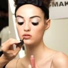 Maquillaje del desfile de Chanel, ¡con lupa!