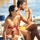 Adriana Lima y Sami Khedira, juntos en Grecia