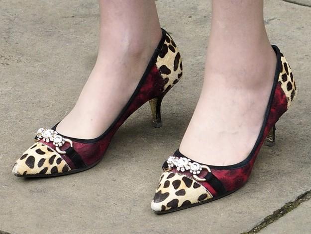 Los zapatos de Theresa May