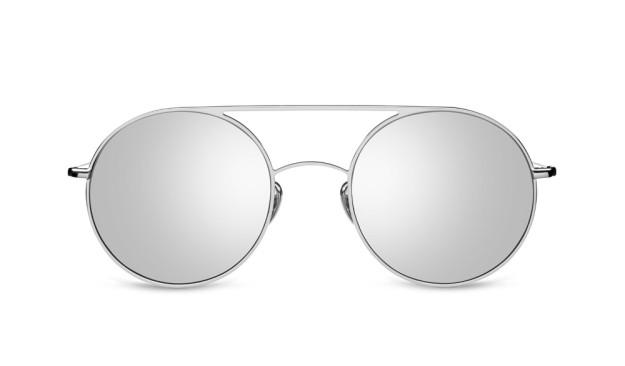 Gafas de sol de espejo. De Kaleos, 180 euros.