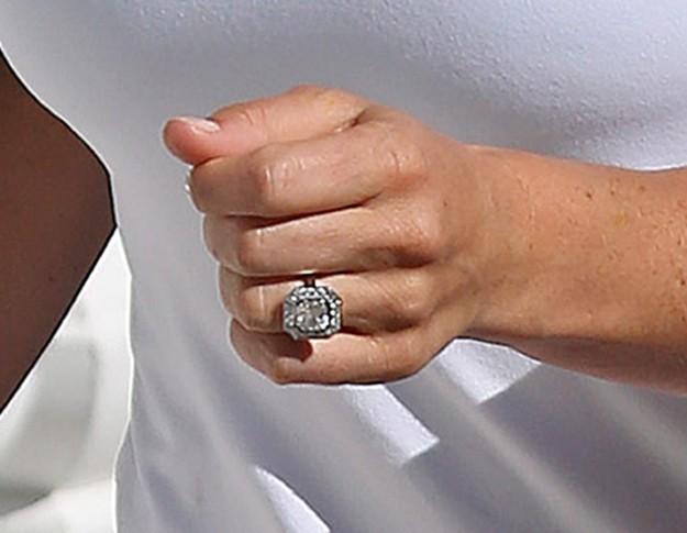 El anillo de compromiso de Pippa Middleton.