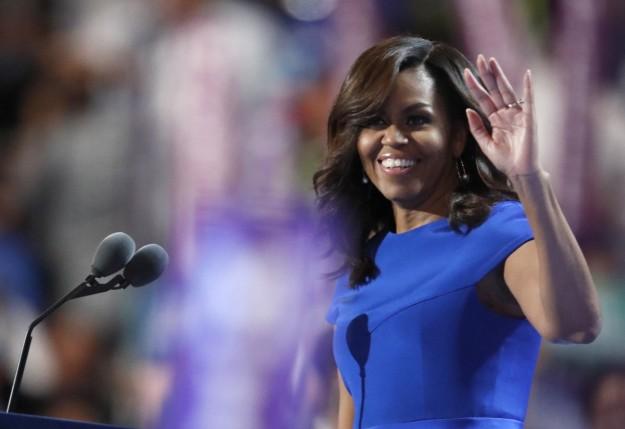Michelle Obama discurso en convención demócrata