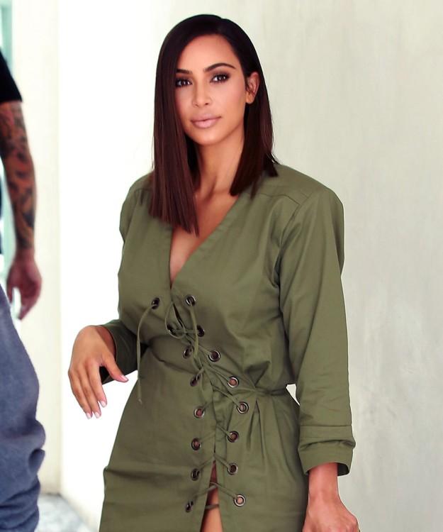 Kim Kardashian estrena nuevo corte de pelo