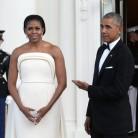 Michelle Obama confia en el diseñador de cabecera de Lady Gaga