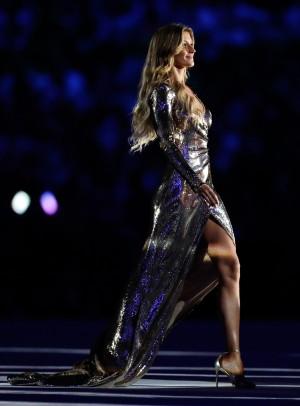 La modelo Gisele Bundchen brilló en la ceremonia de apertura de los JJ.OO. de Río 2016.