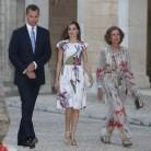 Los Reyes no faltan a su cita con la recepción oficial en Mallorca