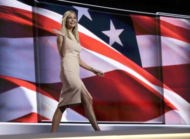 Ivanka Trump en la Convención Republicana.