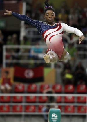 La gimnasta Simone Biles es una de las sensaciones de los Juegos Olímpicos de Río 2016.