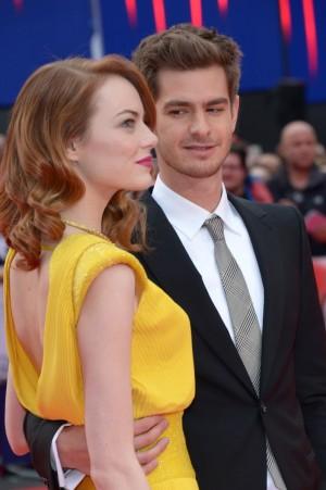 Emma Stone y Andrew Garfield han sido vistos en Londres