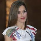 La reina Letizia marca tendencia con las bailarinas lace-up
