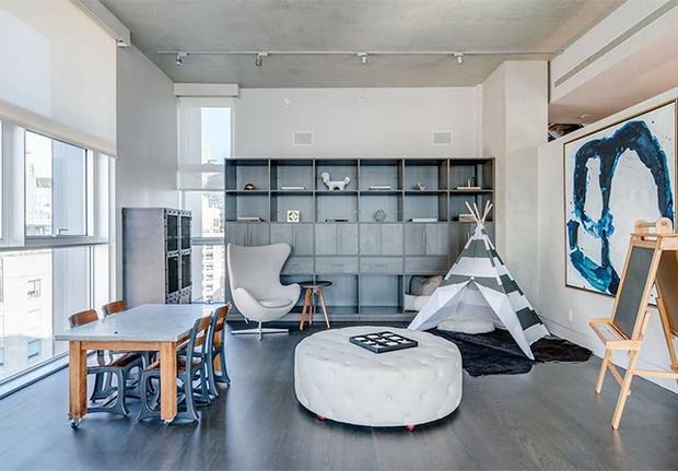 Una noche en el lujoso apartamento de 3 pisos ronda los 10.000 dólares.