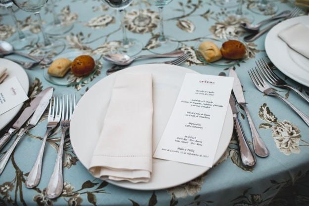 El menú corrió a cargo de los profesionales de Cardamomo Catering.