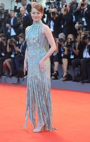 La actriz ha deslumbrado sobre la red carpet.