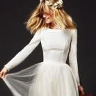 Inspiración para novias: tendencia bailarina