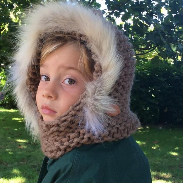 Capuchas de gorro de lana de diferentes colores para este invierno.