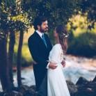 Una boda campestre en un viñedo