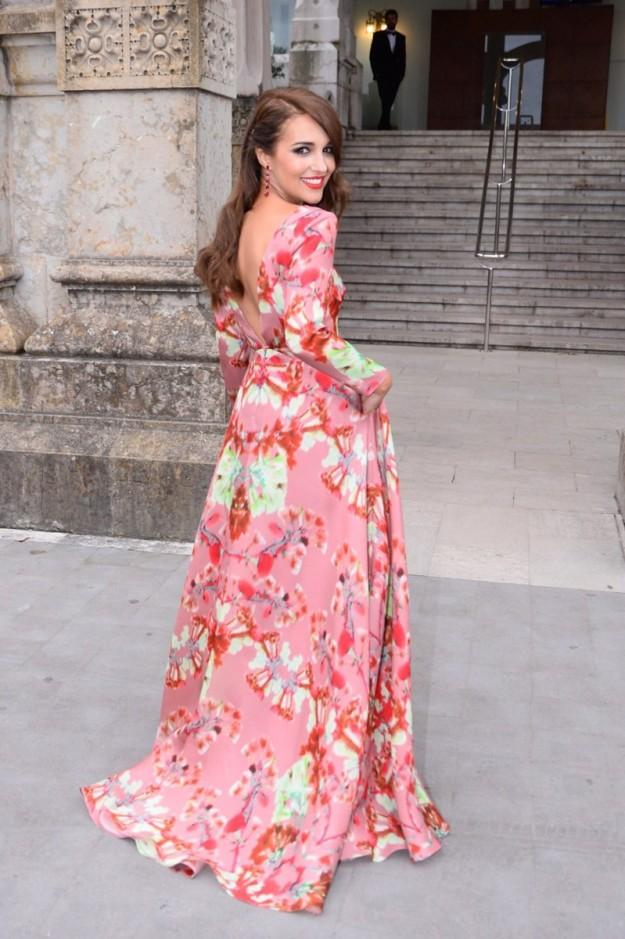 Paula Echevarría en la boda de Marta Hazas