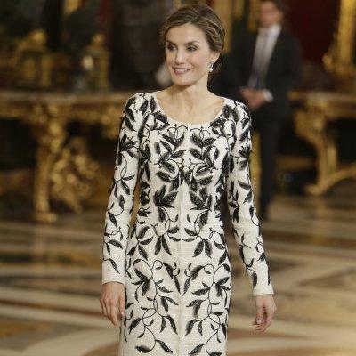 Varela acusado de copiar el vestido de Letiziadel 12 de octubre