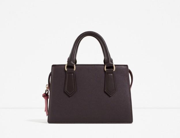 bolso de mano de Zara