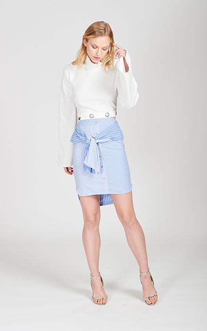 Falda camisa