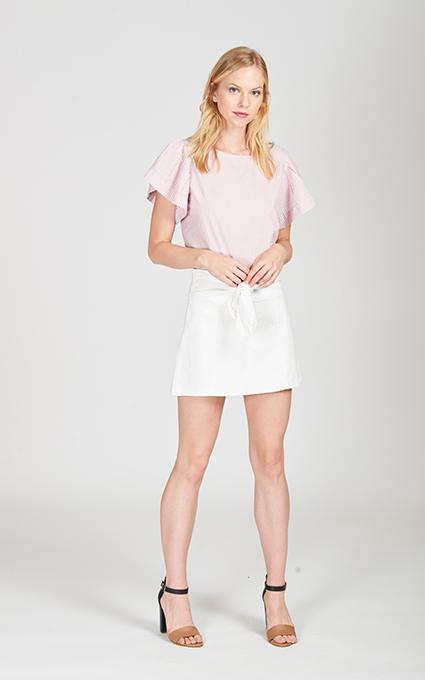 Popelín y minifalda