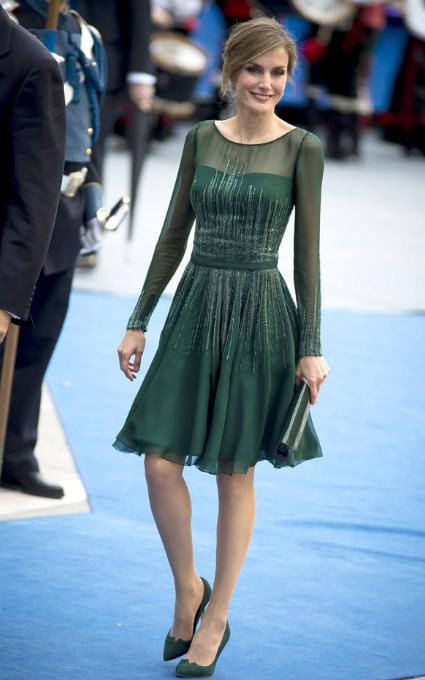 Vestido verde irresistible