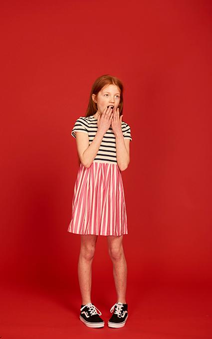 Pinkblue dress