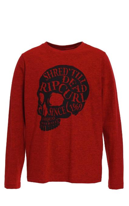 Camiseta pompeian red