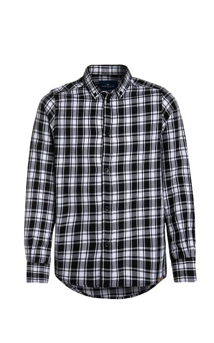 Camisa cuadros negros Tailor