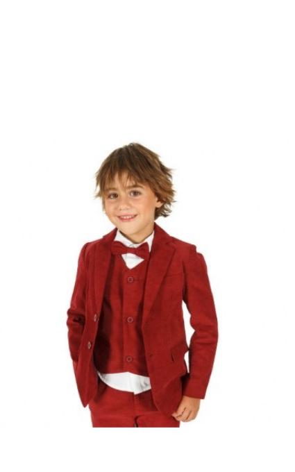 Chaqueta roja vestir