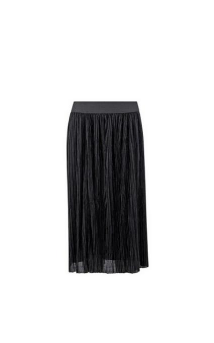 Falda plisada goma