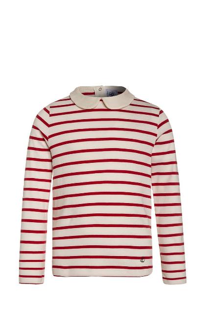 Camiseta coquille roja