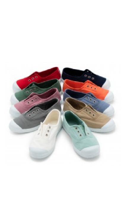 Zapatillas punta goma