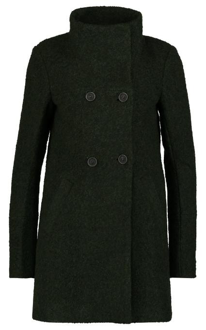 Abrigo verde paño