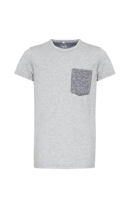 Camiseta bolsillo grey