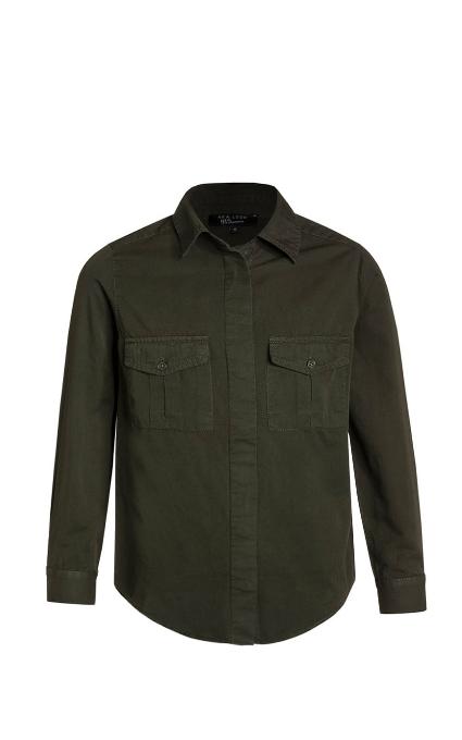 Camisa dark khaki